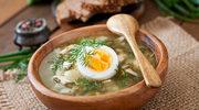 Tradycyjna  szczawiowa z jajkiem