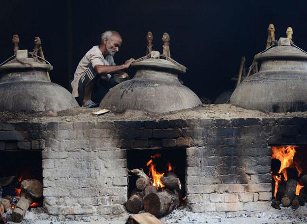 Tradycyjna wytwórnia perfum /AFP