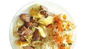 Tradycyjne polskie dania mięsne z jabłkami