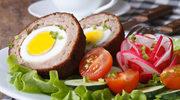 Tradycyjny klops z jajkiem