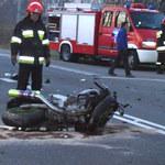 Tragedia. Kawasaki w BMW