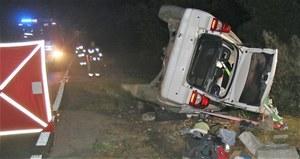 Tragedia koło Oświęcimia. 28-latek zginął po uderzeniu w betonowy mostek