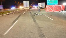 Tragedia na autostradzie A1. Kierowca wypadł z auta!