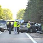 Tragedia na drodze. Zginęły cztery osoby, w tym troje dzieci