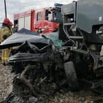 Tragedia na przejeździe kolejowym w Martianach. Stan 11-latka jest nadal ciężki