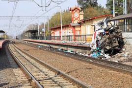 Tragedia na przejeździe kolejowym w Puszczykowie