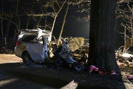 Tragedia pod Opolem. Zginęły trzy osoby