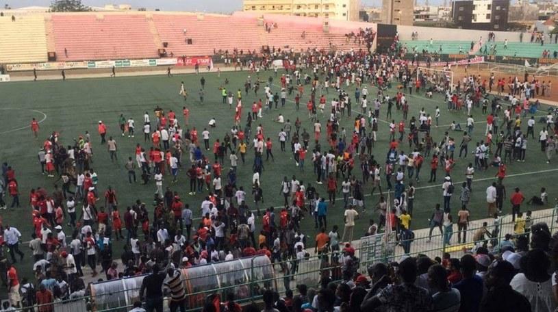 Tragedia w Dakarze, stolicy Senegalu. Osiem osób nie żyje /printscreen /
