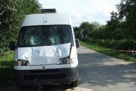 Tragedia w Janiszowie /Policja