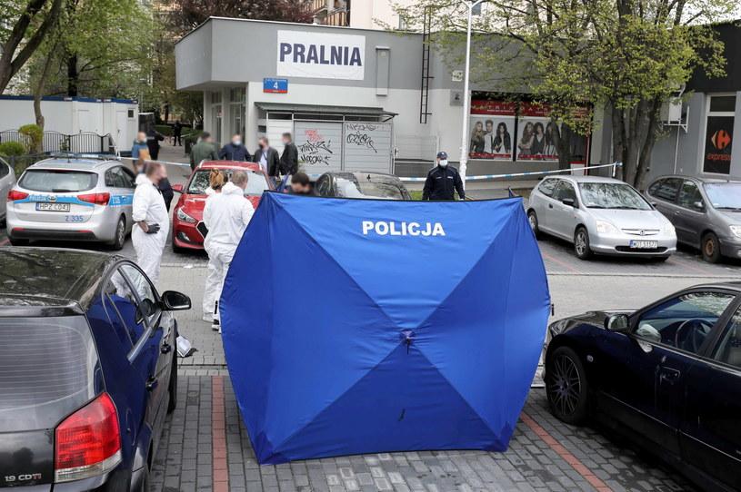 Tragedia w warszawskiej pralni /Paweł Supernak /PAP