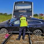 Tragedia w Wielkopolsce. Na przejeździe kolejowym zginął mężczyzna