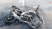 Tragedie motocyklistów. Laweta przejechała po nogach