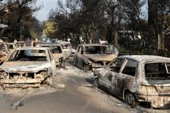 Tragiczne pożary w Grecji. Żywioł nadal szaleje