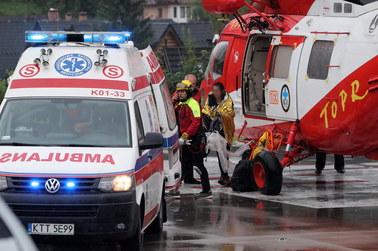 Tragiczne skutki burzy w Tatrach. Ratownicy wrócą w góry szukać poszkodowanych