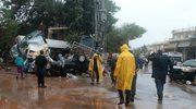 Tragiczne skutki powodzi w Grecji