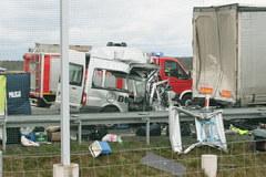 Tragiczne skutki wypadku na S3. Zginęło 6 osób