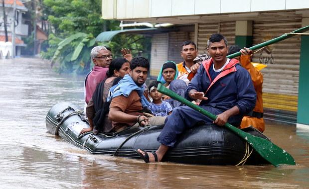 Tragiczny bilans powodzi w Indiach. Rośnie liczba ofiar