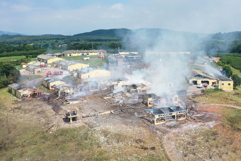 Tragiczny bilans wybuchu w fabryce fajerwerków. 4 osoby zginęły, prawie 100 rannych /TAHIR TURAN EROGLU /PAP/EPA