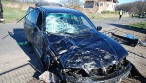Tragiczny finał kwietniowego weekendu na drogach