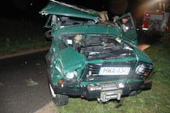 Tragiczny finał pościgu za samochodem; strażnicy graniczni w szpitalu