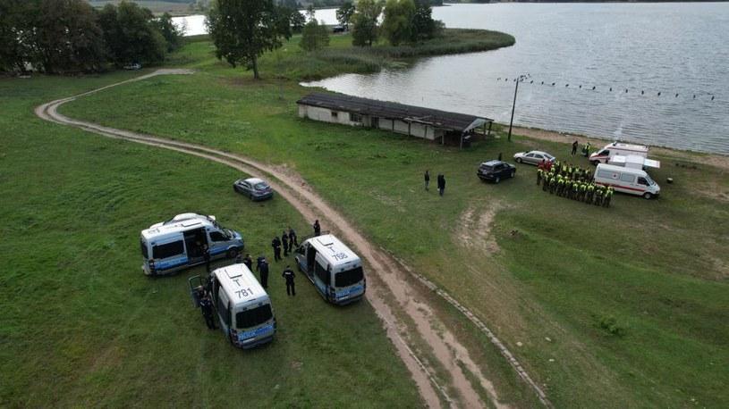 Tragiczny finał poszukiwań zaginionego 27-latka /Policja Olsztyn /Twitter