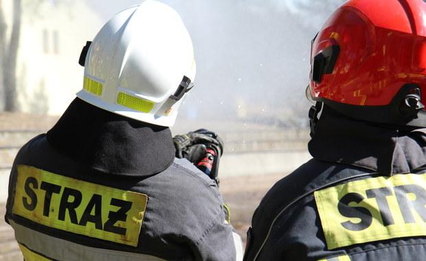 Tragiczny pożar w Dąbrowie Tarnowskiej. Nie żyje jedna osoba