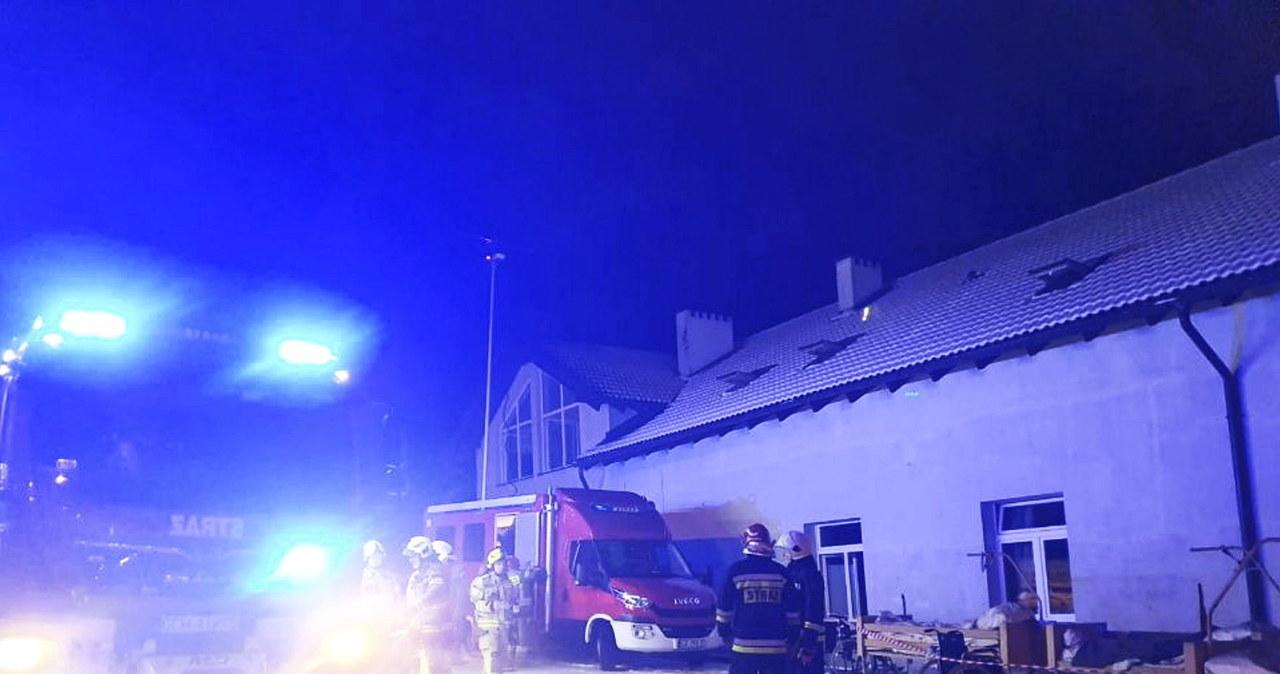 Tragiczny pożar w hospicjum w Chojnicach