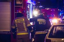 Tragiczny pożar w Warszawie. Nie żyje jedna osoba