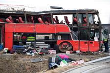 Tragiczny wypadek autokaru na A4. Jeden z kierowców został przesłuchany