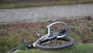 Tragiczny wypadek. Bus potrącił rowerzystę. Droga krajowa nr 91 zablokowana