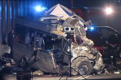 Tragiczny wypadek busa w Śląskiem