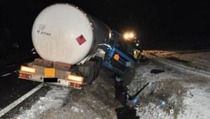 Tragiczny wypadek cysterny na drodze