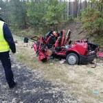 Tragiczny wypadek koło Radomska. Zginęły cztery osoby