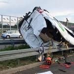 Tragiczny wypadek na A2. Zginęła jedna osoba