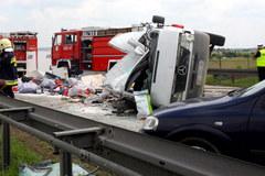 Tragiczny wypadek na A4: 7 osób zginęło