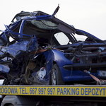 """Tragiczny wypadek na krajowej """"5"""". Nie żyją cztery osoby"""