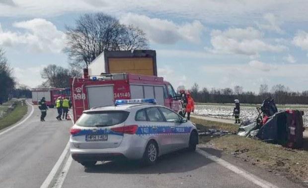 Tragiczny wypadek na Mazowszu. Nie żyje dwoje dzieci