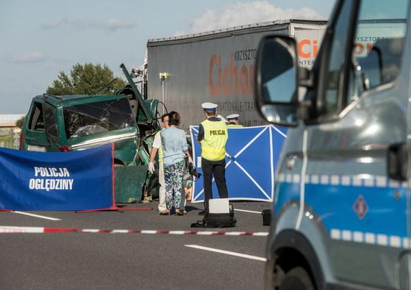 Wypadek na obwodnicy Lublina