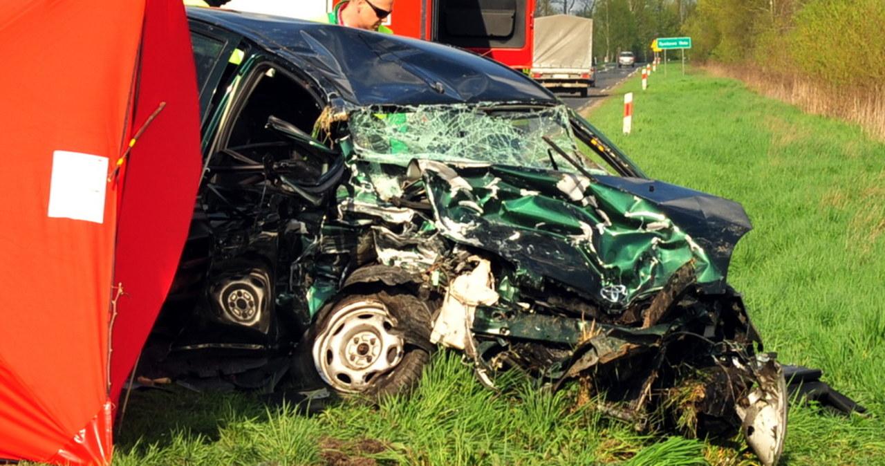 Tragiczny wypadek na Podkarpaciu. Zginęły dwie osoby