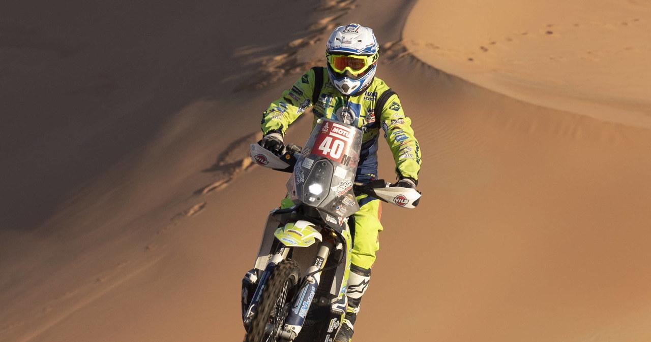 Tragiczny wypadek na Rajdzie Dakar. Zmarł motocyklista Edwin Straver