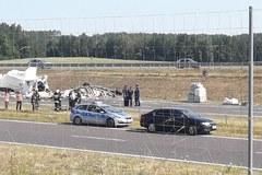 Tragiczny wypadek na S7. Auta stanęły w ogniu