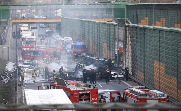 Tragiczny wypadek na S8 na Bemowie. Zginął kierowca ciężarówki