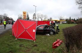 Tragiczny wypadek niedaleko Słupska
