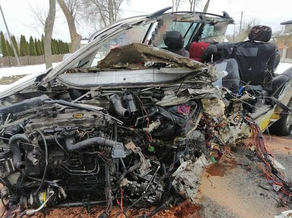 Ofiarą śmiertelną wypadku, do którego doszło w niedzielę po godz. 12, jest mieszkaniec powiatu wyszkowskiego.