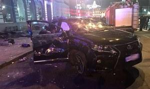 Tragiczny wypadek w Charkowie. Lexus zmiótł pieszych