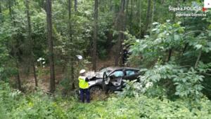 Tragiczny wypadek w Dąbrowie Górniczej. Kierowca zginął na miejscu