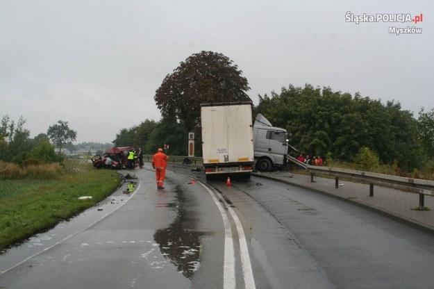 Tragiczny wypadek w Koziegłowach /Policja