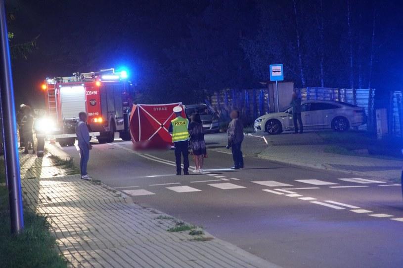 Tragiczny wypadek w Krężnicy Jarej /lublin112.pl /