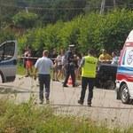 Tragiczny wypadek w Łęce. Zginęli rodzice i ich syn