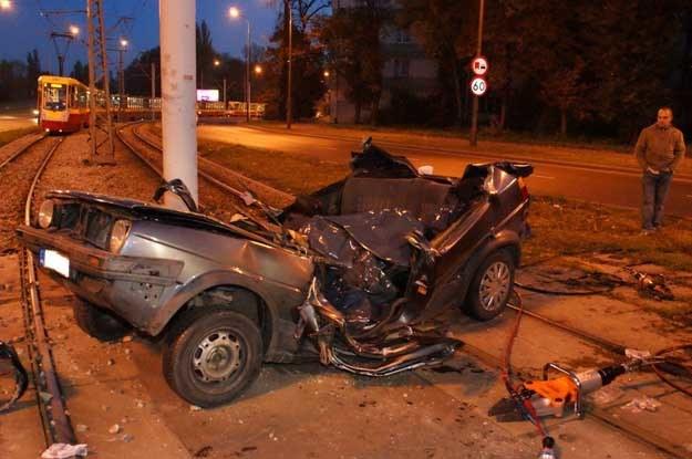 Tragiczny wypadek w Łodzi /Policja
